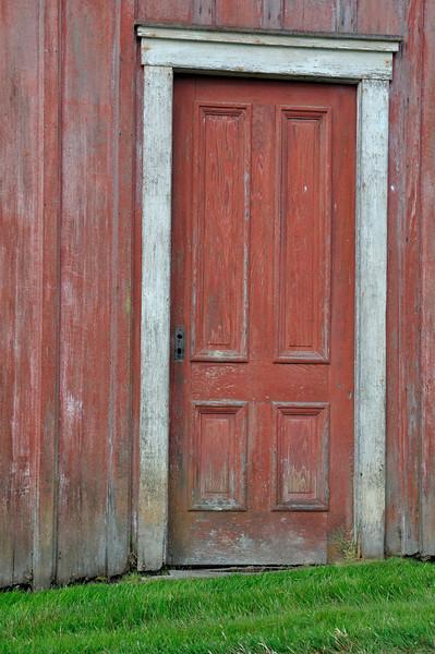 Red Door<br /> Lopez Island, WA