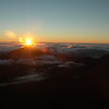 Sunrise over the Top of the World