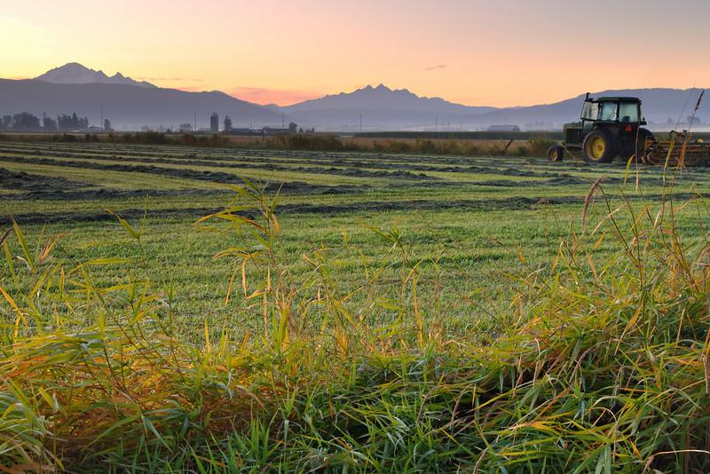 Country Sunrise<br /> Whatcom County, WA