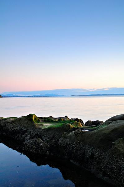 Evening Reflection<br /> Clayton Beach, WA