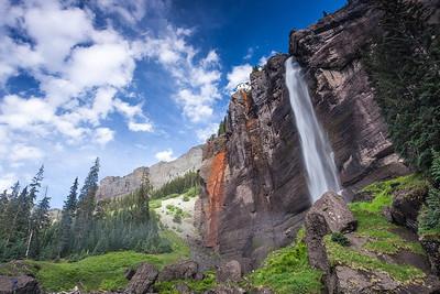 Bridalveil Falls, near Telluride, Colorado