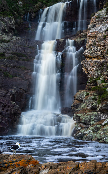Otter Trail Twee Riviere waterfall hiking trail, Eastern Cape, South Africa