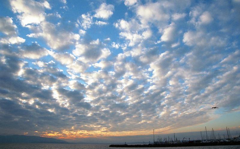 Clouds<br /> Bellingham Bay, WA