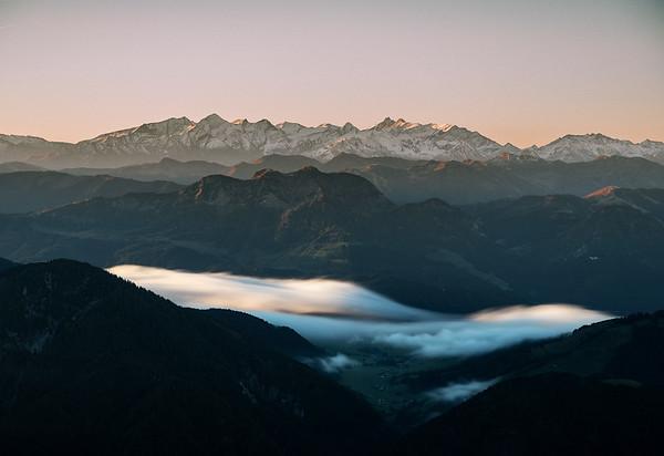 Autumn Fog, Nurracher Höhenweg, Tirol, Austria 2018