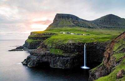 Gásadalur, Vágar, Faroe Islands 2019