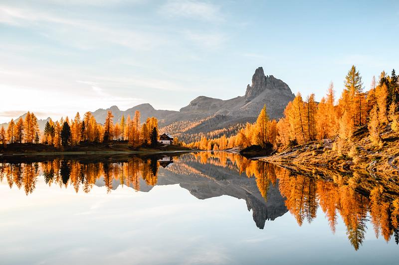 Autumn Hype, Lago de Federa, Dolomites 2019