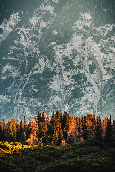 Autumn moods, Karwendel, Tirol, Austria 2018
