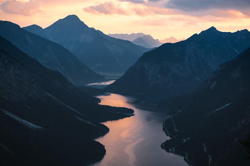 Glowing Lakes, Plansee, Tirol, Austria 2018