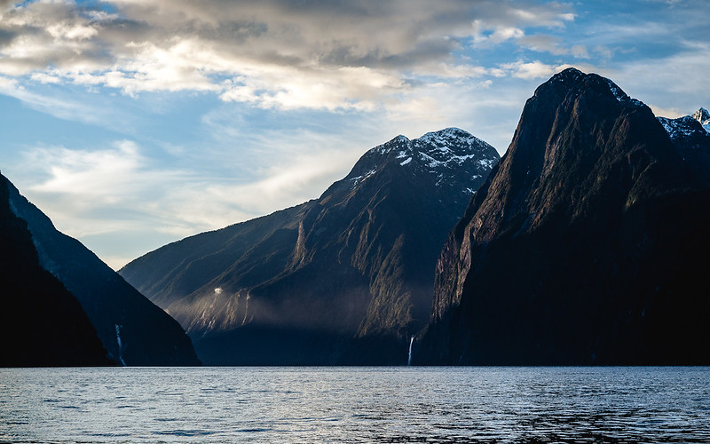 Mighty fjords, Milford Sound, New Zealand 2013