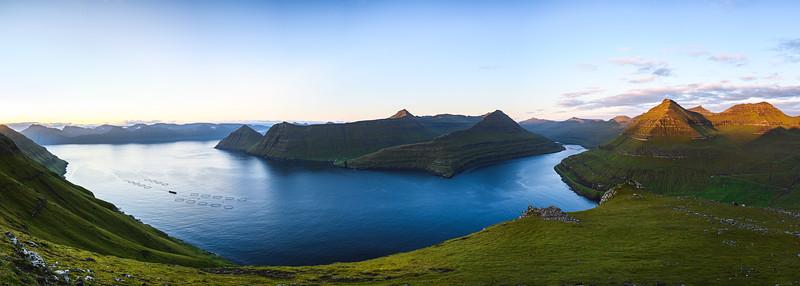 Fjordland Panorama, Funningur, Faroe Islands 2019