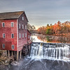 Autumn Day at Dells Mill