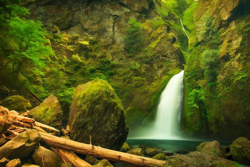 Water Fall (Digitally enhanced)