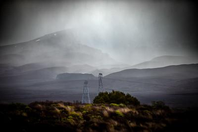 Desert Road Rain