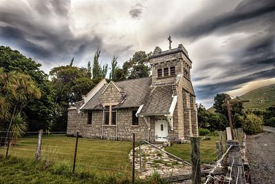 Saint Oswald's Church, side
