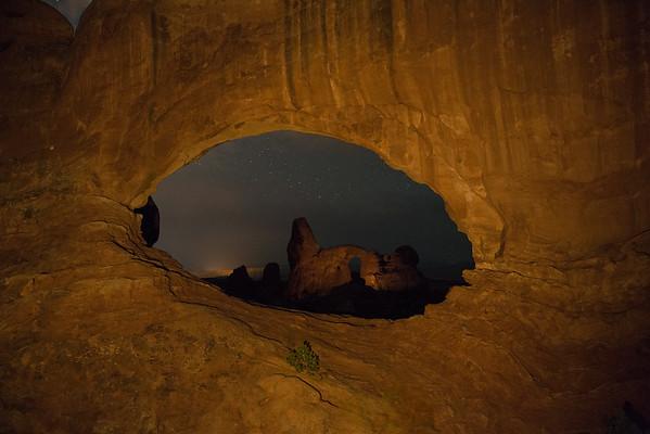 Turret Arch through North Window