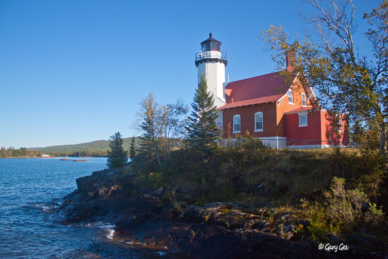 Eagle Harbor Lighthouse Lake Superior, MI