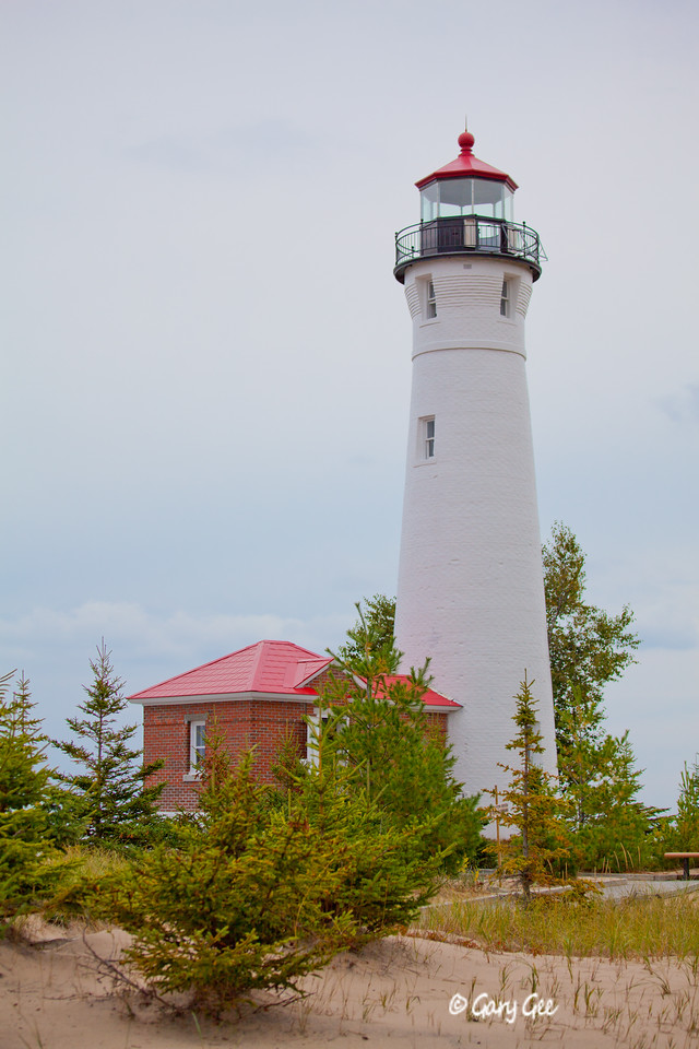Crisp Point Lighthouse Lake Superior, MI