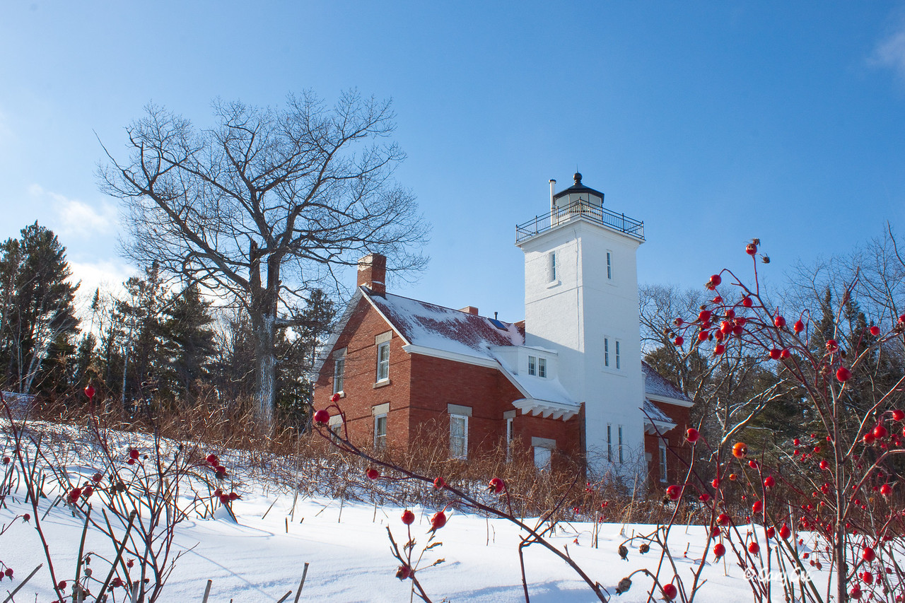 40 Mile Point Lighthouse - Lake Huron, Rogers City, MI