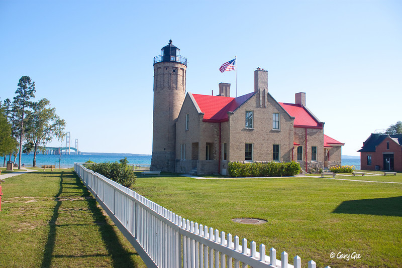 Mackinac Lighthouse, Northern Michigan