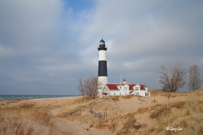Big Sable Point Lighthouse, Ludington, Lake Michigan