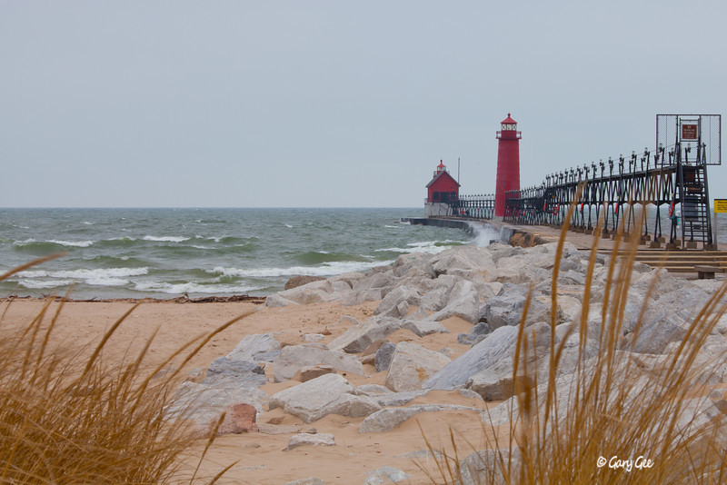Grand Haven Lighthouse February 2012