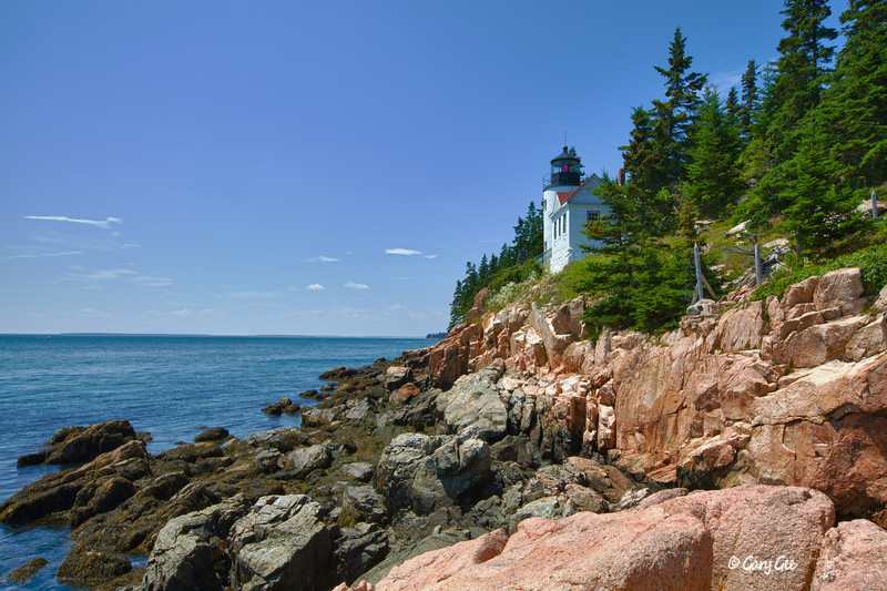 Bass Harbor Head Light - Bass Habor on Mt. Desert Island Maine - Established 1958