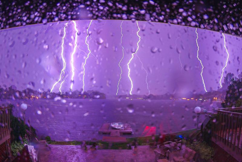 Lightning Eruption
