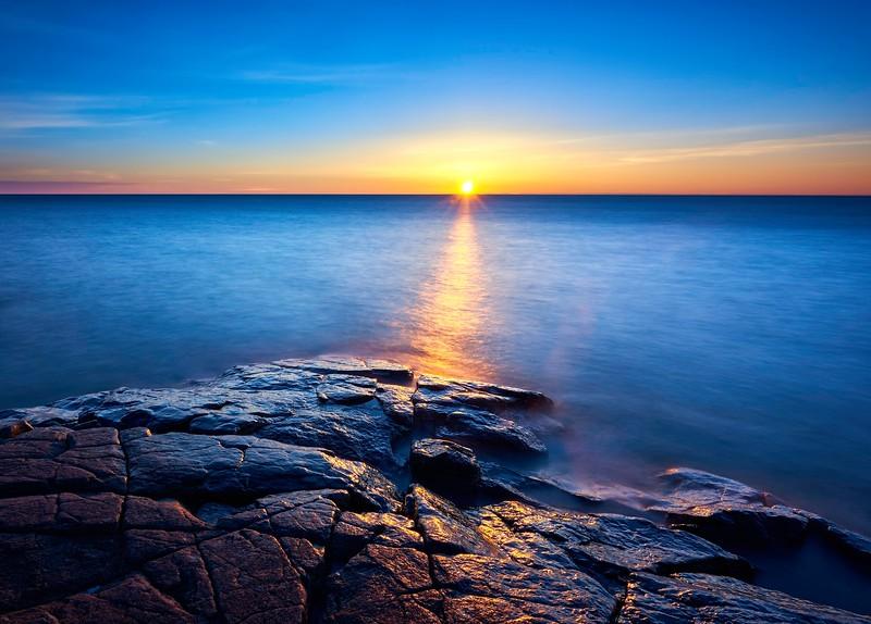 Sunrise at Stoney Point