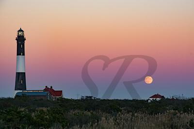 Fire Island Moonrise