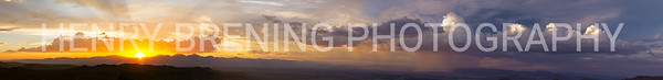 Sunset @ Owens Peak, Ca USA
