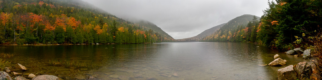 Bubble Pond in Acadia National Park, ME