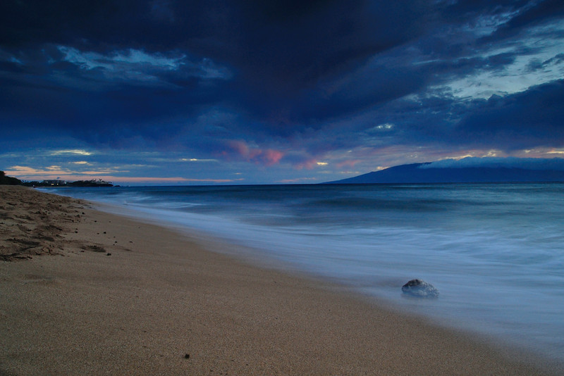 Storm Clouds at Sunset on Maui