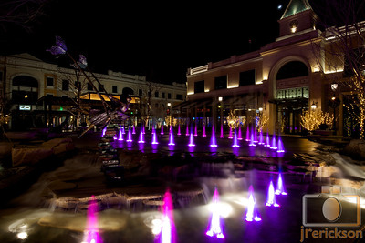 Village Fountains Purple 16