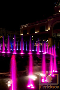 Village Fountains Purple 18