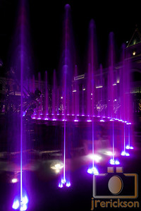 Village Fountains Purple 19