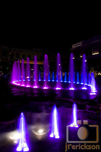 Village Fountains Purple 37
