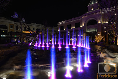 Village Fountains Purple 11