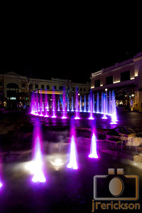 Village Fountains Purple 27