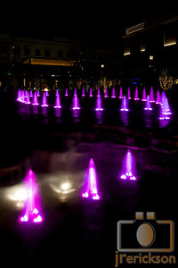 Village Fountains Purple 32
