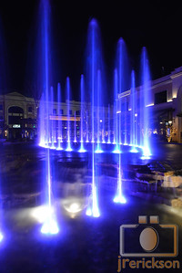 Village Fountains Purple 28