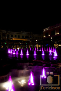 Village Fountains Purple 25