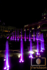 Village Fountains Purple 20
