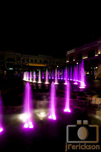 Village Fountains Purple 23