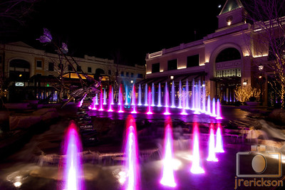 Village Fountains Purple 17