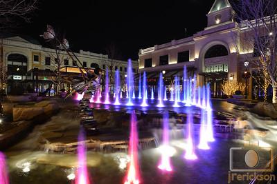 Village Fountains Purple 6
