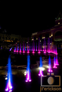 Village Fountains Purple 21