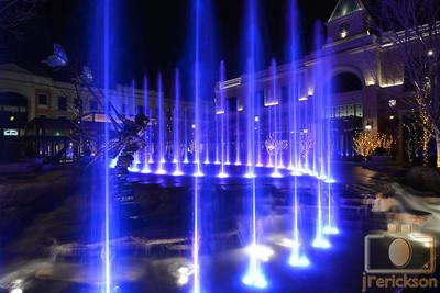 Village Fountains Purple 10