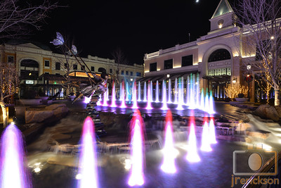 Village Fountains Purple 2