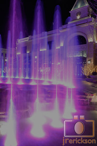 Village Fountains Purple 3