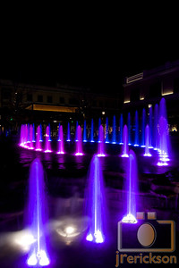 Village Fountains Purple 36